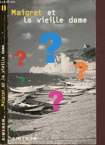 MAIGRET ET LA VIEILLE DAME- COLLECTION U.G.E. POCHE N°11