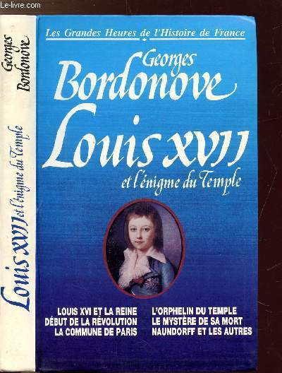 LOUIS XVII ET L'ENIGME DU TEMPLIE - COLLECTION
