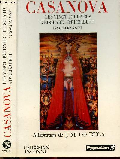 CASANOVA - LES VINGHT JOURNEES D'EDOUARD ET D'ELIZABETH