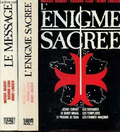 L'ENIGME SACREE - 2 VOLUMES - TOMES I+II - LE MESSAGE