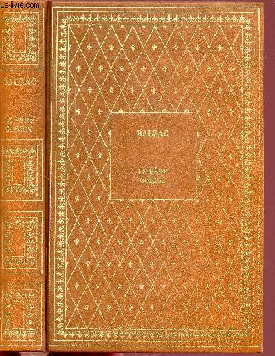 LE PERE GORIOT - COLLECTION BIBLIO-LUXE