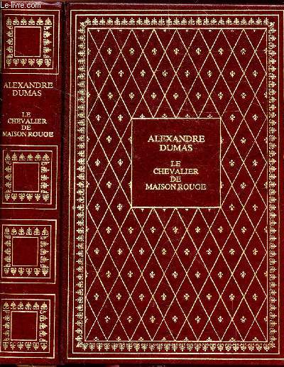 LE CHEVALIER DE MAISON ROUGE - COLLECTION BIBLIO-LUXE