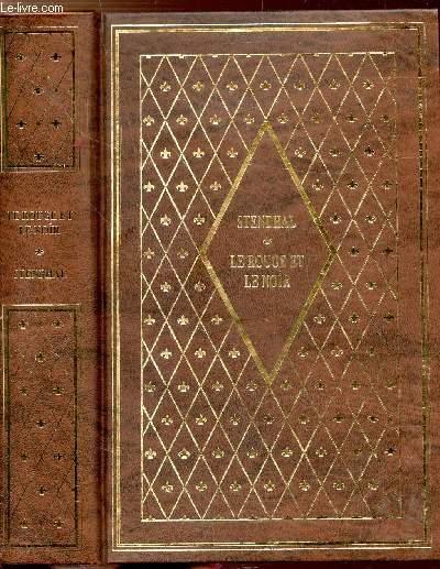 LE ROUGE ET LE NOIR - COLLECTION BIBLIO-LUXE