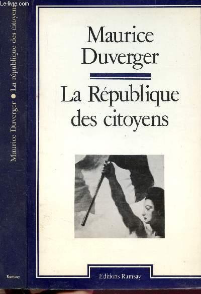 LA REPUBLIQUE DES CITOYENS