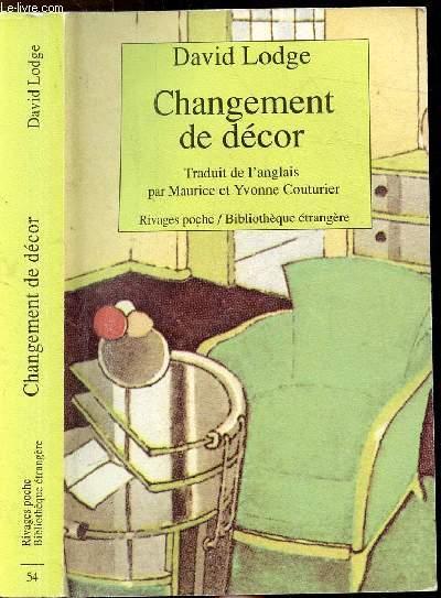 CHANGEMENT DE DECOR - COLLECTION RIVAGES POCHE - BIBLIOTHEQUE ETRANGERE N°54