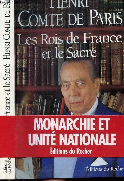 LES ROIS DE FRANCE ET LE SACRE