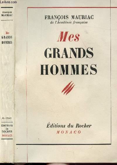 MES GRANDS HOMMES