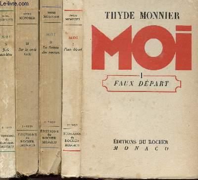 MOI- 4 VOLUMES - TOMES I+II+III+IV - FAUX DEPART LA SAISON DES AMOURS - SUR LA CORDE RAIDE - JETEE AUX BETES