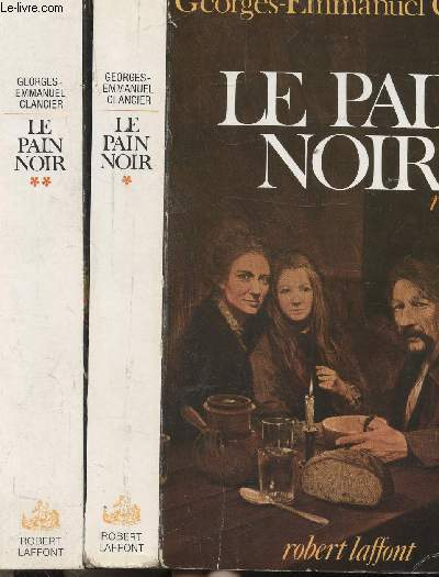 LE PAIN NOIR - 2 VOLUMES - TOMES I+II