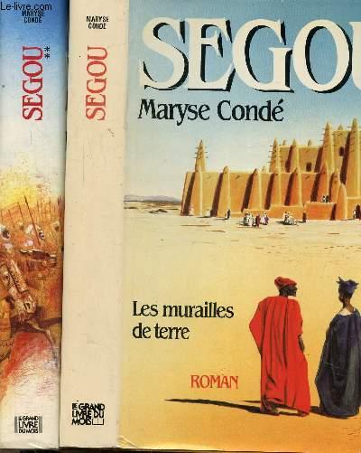 SEGOU- 2 VOLUMES - TOMES I+II - LES MURAILLES DE TERRE - LA TERRE EN MIETTES