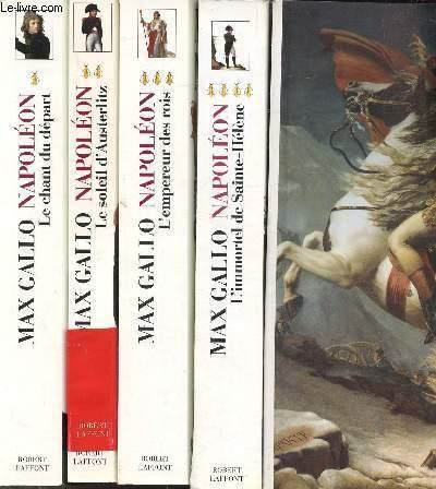 NAPOLEON - 5 VOLUMES - L'ALBUM+ TOMES I+II+III+IV - L'ALBUM DE L'EMPEREUR - LE CHANT DU DEPART - LE SOLEIL D'AUSTERLITZ - L'EMPEREUR DES ROIS - L'IMMORTEL DE SAINTE-HELENE
