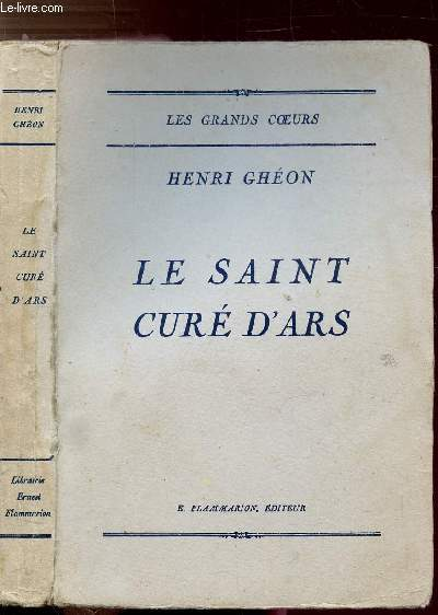 LE SAINT CURE D'ARS