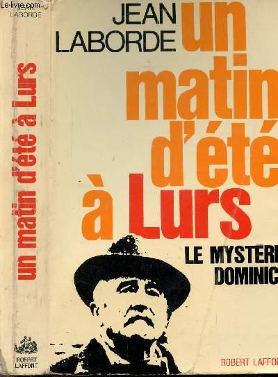 UN MATIN D'ETE A LURS - 5 AOUT 1952