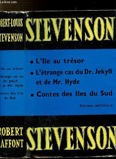 L'ILE AU TRESOR - L'ETRANGE CAS DU DR JEKYLL ET DE MR. HYDE - CONTES DES ILES DU SUD