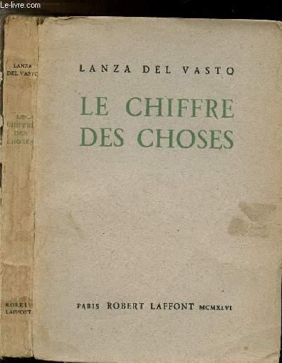 LE CHIFFRE DES CHOSES
