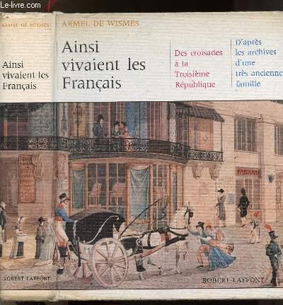 AINSI VIVAIENT LE FRANCAIS