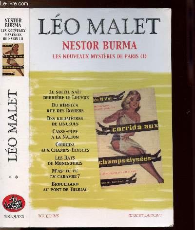 NESTOR BURMA - TOME II - LES NOUVEAUX MYSTERE DE PARIS