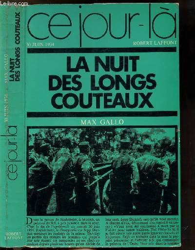 LA NUIT DES LONGS COUTEAUX - COLLECTION