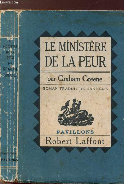 LE MINISTERE DE LA PEUR - COLLECTION PAVILLONS