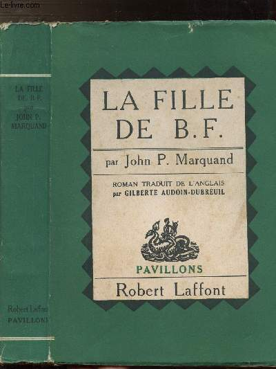 LA FILLE DE B.F. - COLLECTION PAVILLONS