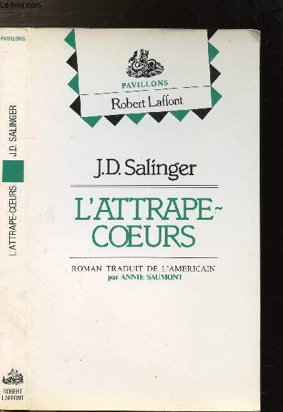 L'ATTRAPE-COEURS- COLLECTION PAVILLONS