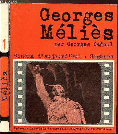 GEORGES MELIES -  - COLLECTION CINEMA D'AUJOURD'HUI N°1