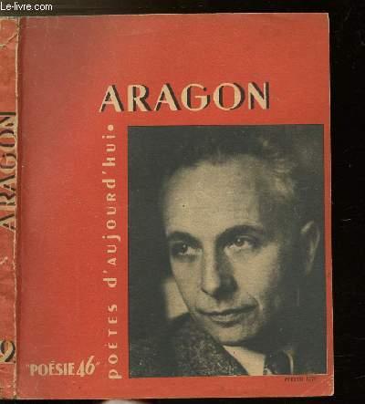 ARAGON - COLLECTION POETES D'AUJOURD'HUI N°2