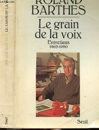 LE GRAIN DE LA VOIX