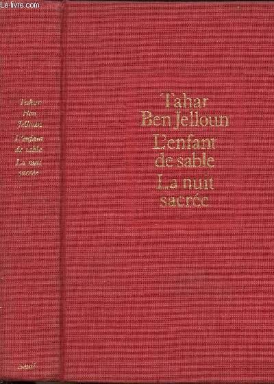 2 VOLUMES - TOMES I+II - L'ENFANT DE SABLE - LA NUIT SACREE
