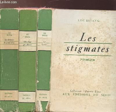 CHARGES D'AMES  - 3 VOLUMES - TOMES I+II+III - LES STIGMATES - CHERCHANT QUI DEVORER - LES FONTAINES DU GRAND ABIME