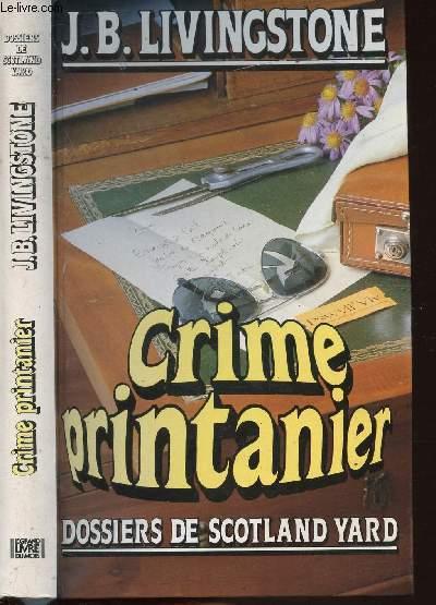 CRIME PRINTANIER