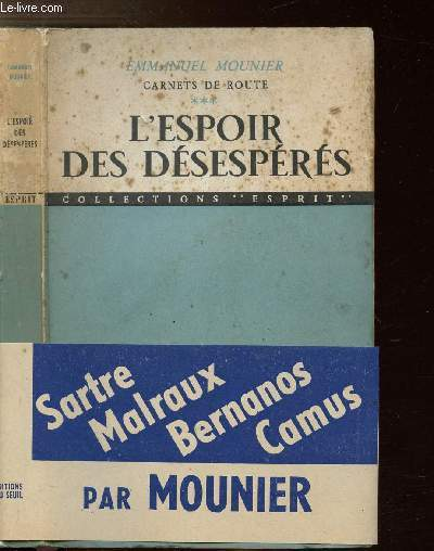CARNETS DE ROUTE - TOME III - L'ESPOIR DES DESESPERES