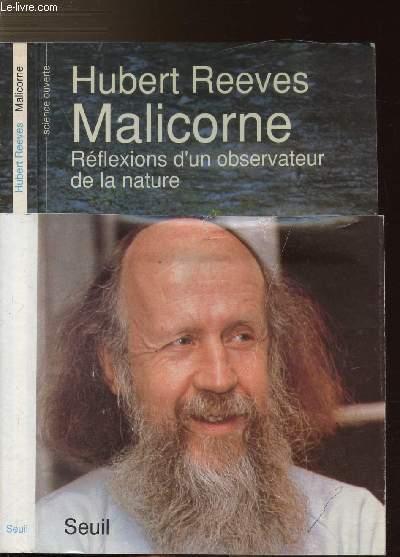 MALICORNE - REFLEXIONS D'UN OBSERVATEUR DE LA NATURE