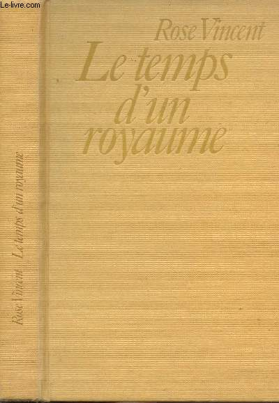 LE TEMPS D'UN ROYAUME - JEANNE DUPLEIX 1706-1756