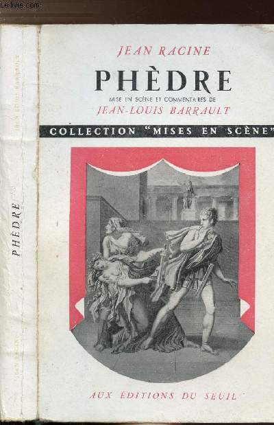 PHEDRE - COLLECTION MISES EN SCENE