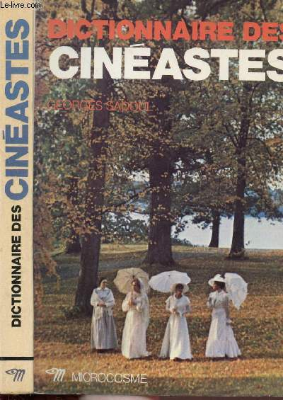 DICTIONNAIRE DES CINEASTES - COLLECTION MICROCOSME
