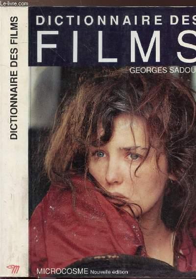 DICTIONNAIRE DES FILMS - COLLECTION MICROCOSME
