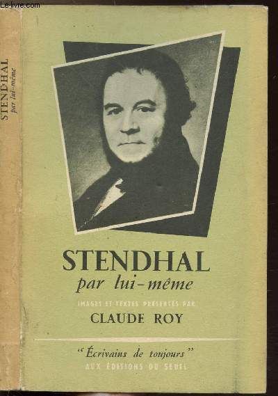 STENDHAL PAR LUI-MEME - COLLECTION MICROCOSME