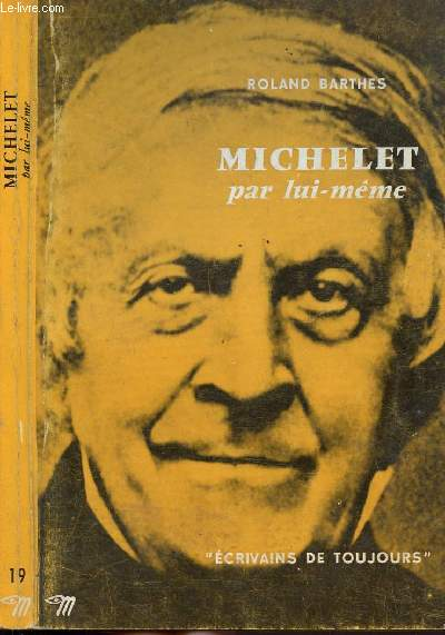 MICHELET PAR LUI-MEME - COLLECTION MICROCOSME