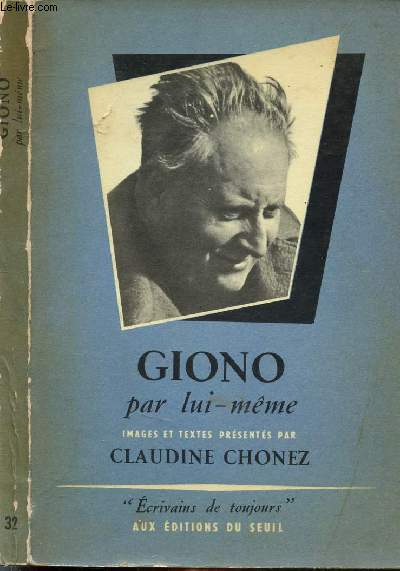 GIONO PAR LUI-MEME - COLLECTION MICROCOSME