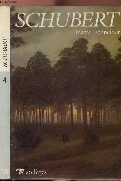 SCHUBERT - COLLECTION SOLFEGES N°4