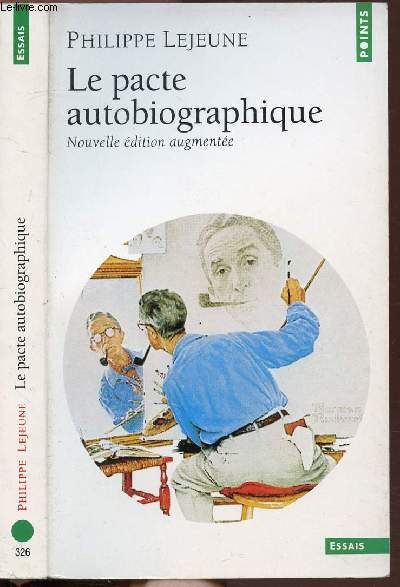 LE PACTE AUTOBIOGRAPHIQUE - COLLECTION POINTS ESSAIS N°326