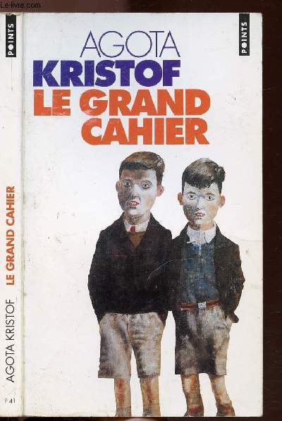 LE GRAND CAHIER - COLLECTION POINTS ROMAN N°P41