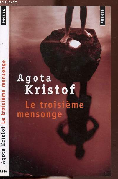 LE TROISIEME MENSONGE - COLLECTION POINTS ROMAN N°P126