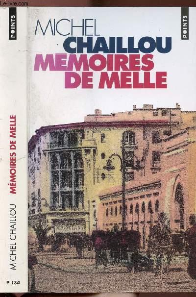 MEMOIRES DE MELLE - COLLECTION POINTS ROMAN N°P134