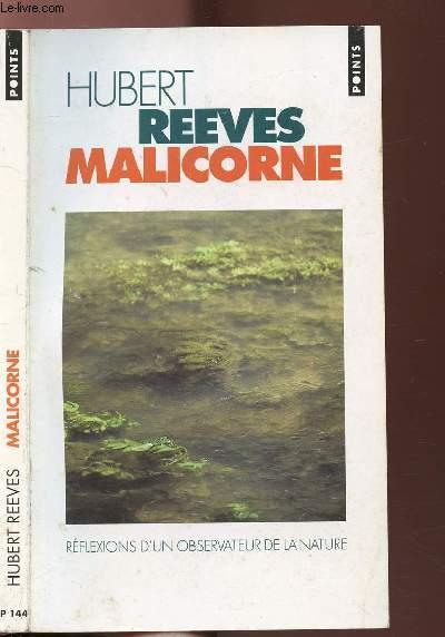 MALICRONE - REFLEXIONS D'UN OBSERVATEUR DE NATURE - COLLECTION POINTS ROMAN N°P144