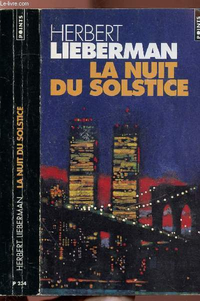 LA NUIT DU SOLSTICE - COLLECTION POINTS POLICIER N°P234