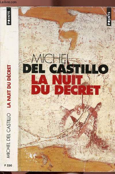 LA NUIT DU DECRET - COLLECTION POINTS ROMAN N°P250