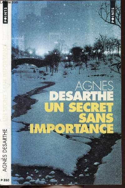 UN SECRET SANS IMPORTANCE - COLLECTION POINTS ROMAN N°P350