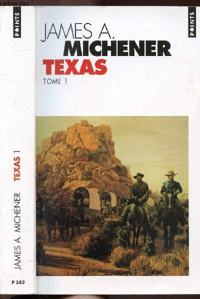 TEXAS - TOME I - COLLECTION POINTS ROMAN  N°P382